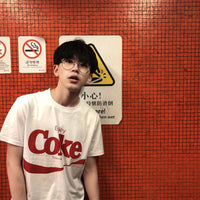 Z - Enjoy Coke White Top