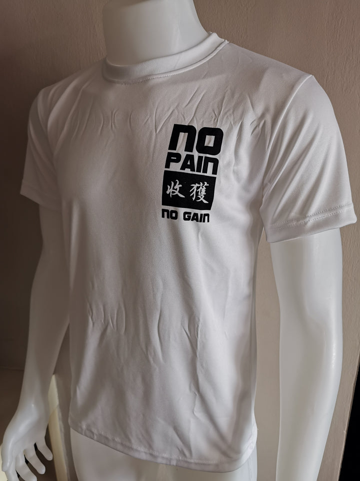 DOMS - NO PAIN 收获 NO GAIN (White)