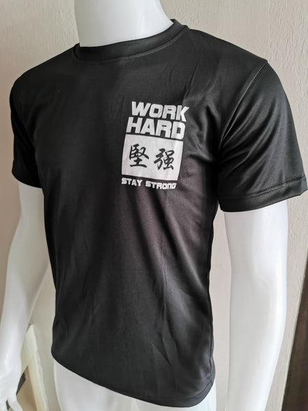 DOMS - WORK HARD 坚强 STAY STRONG (Black)