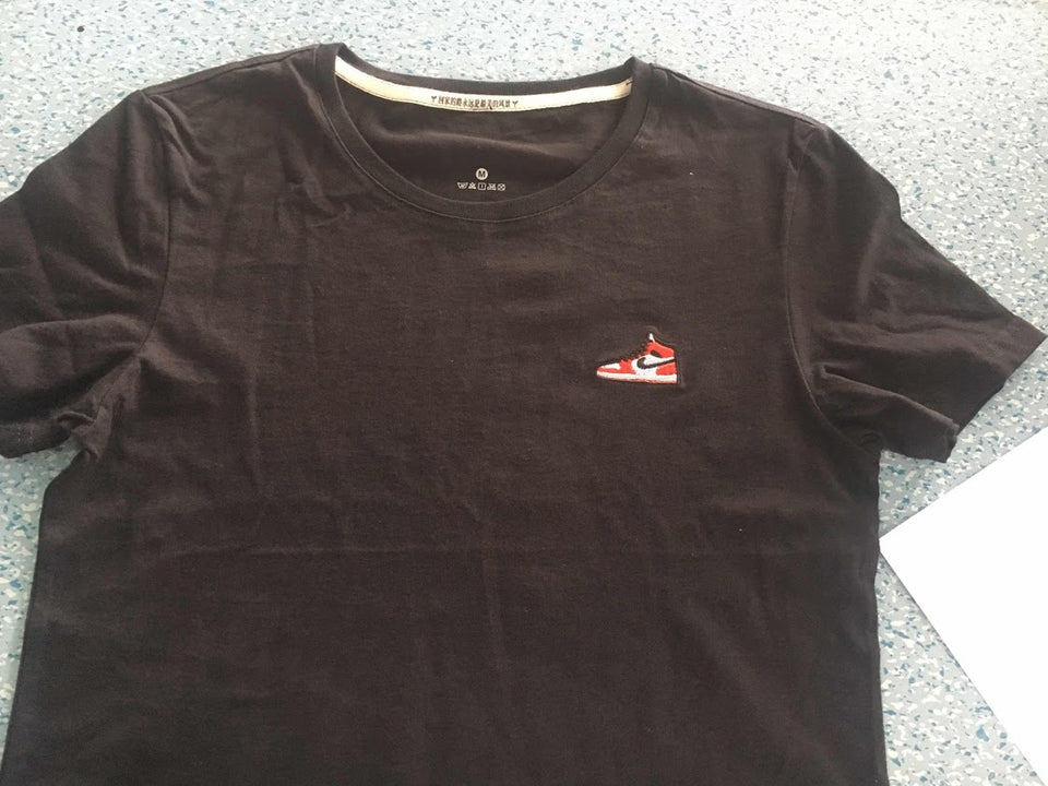 Jordan Airforce Shoe EMBROIDERY T-SHIRT