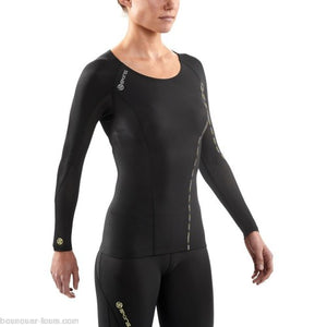 AUTHENTIC - SKINS WOMEN DNAMIC GRADIENT COMPRESSION LONG TOP