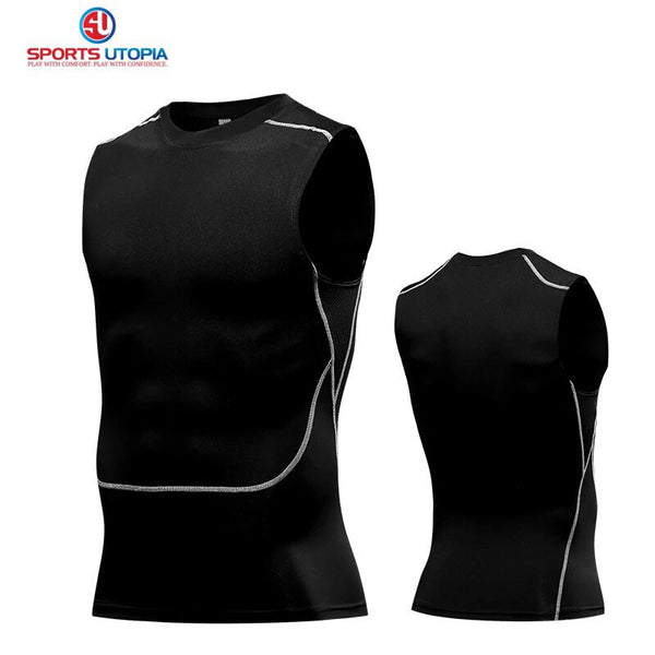B - Pro Combat Compression Tights Singlet