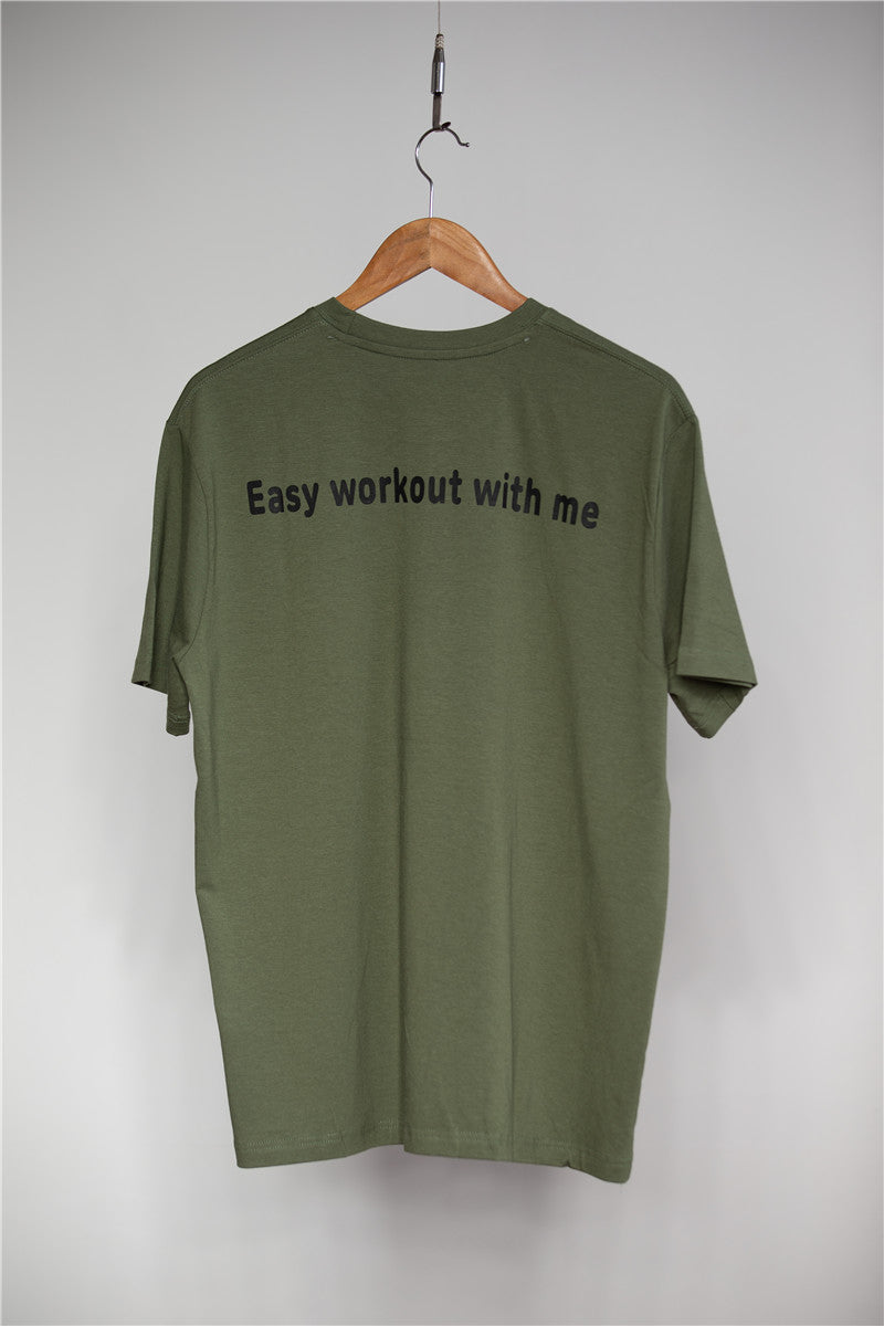 .Easy Gym Seamless Short Sleeve - Green