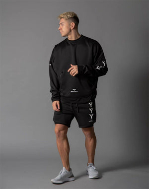 .YYY 2-in-1 Running Shorts - Black