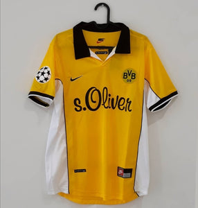 Borussia Dortmund Retro Home Kit