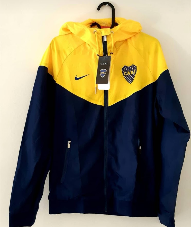 Boca Juniors Soccer Jacket