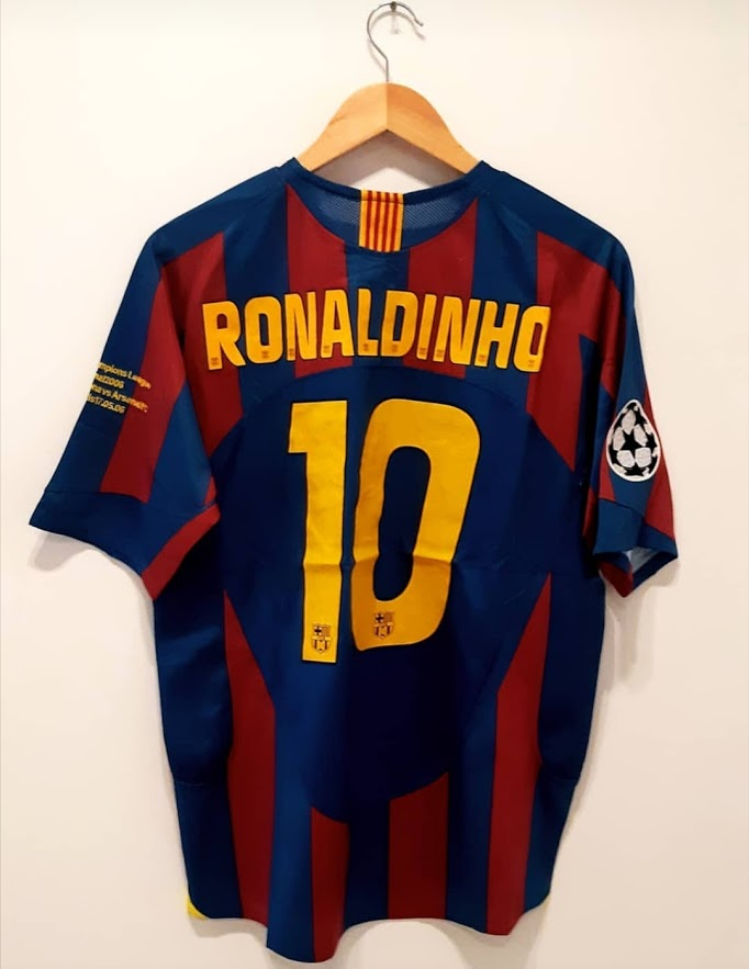 Barcelona Retro Home Kit