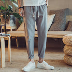 Z - Korean Relaxing Comfy Pants Grey
