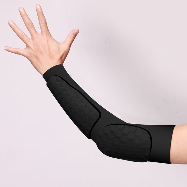 O - Sports Utopia Padded Compression Tights Arm Sleeve