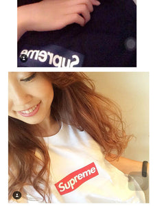 Z - Supreme (Label Sew On) Black Unisex Top