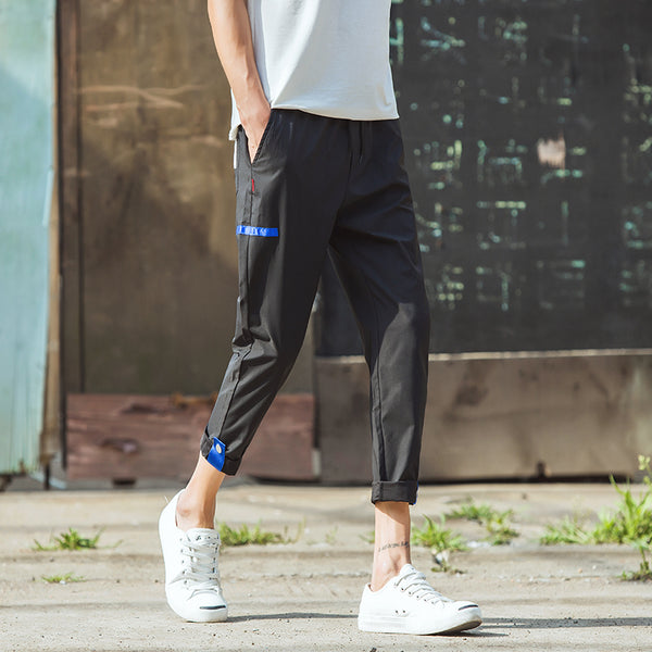 Z - Korean Comfy Pants Black