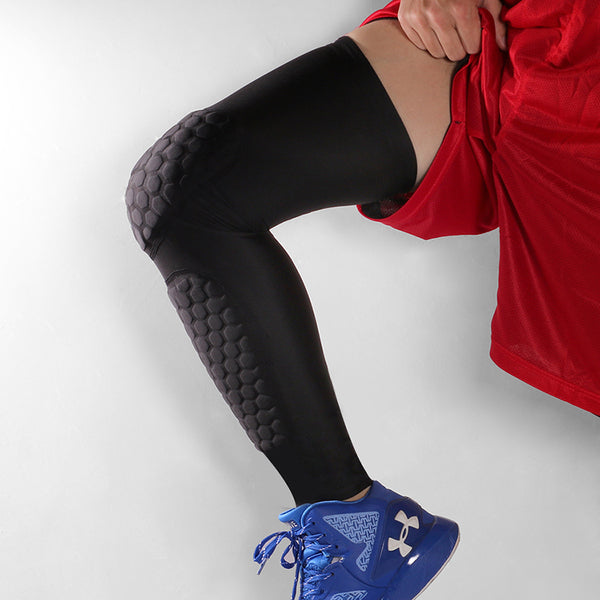 O - Sports Utopia Padded Compression Tights Leg Sleeve