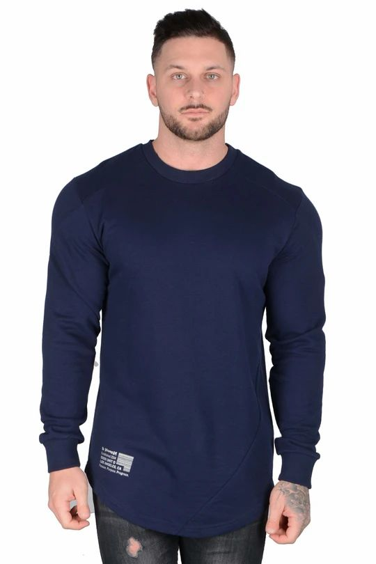 .Barcode Performance Long Sleeve - Blue