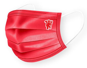 #IAMUNITED 3 ply Adult Face Mask (Red)