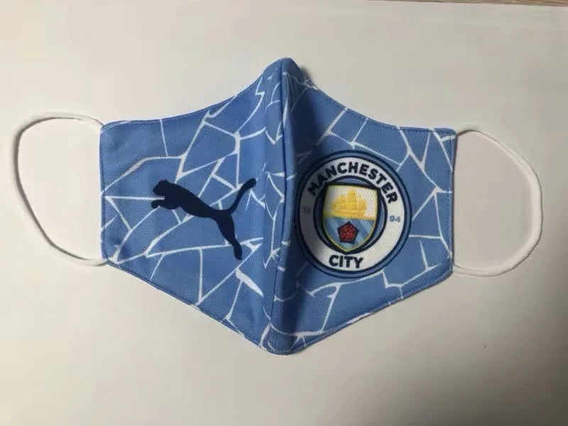 <Manchester City - Adults Face Mask>