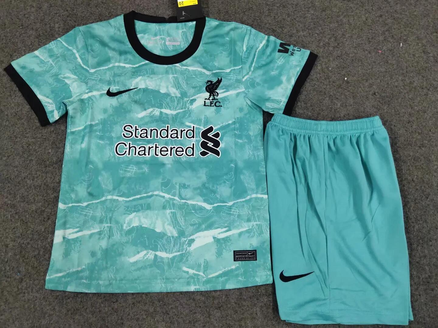 <Liverpool 20/21 Away Youth Kit>