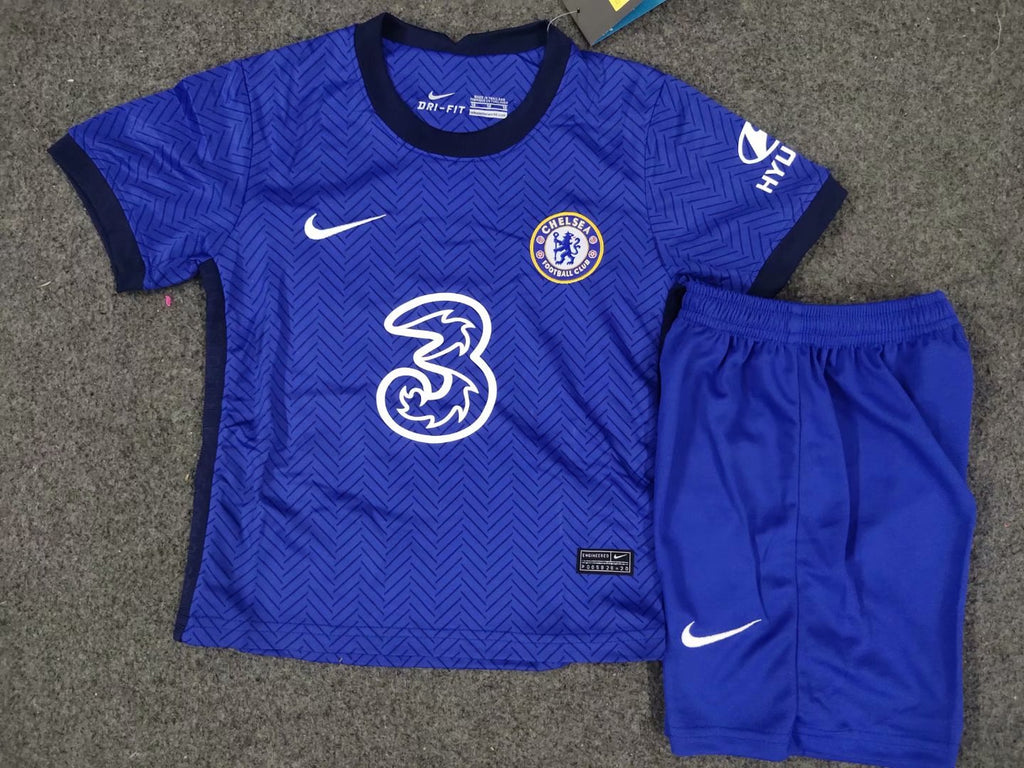 <Chelsea 20/21 Home Youth Kit>