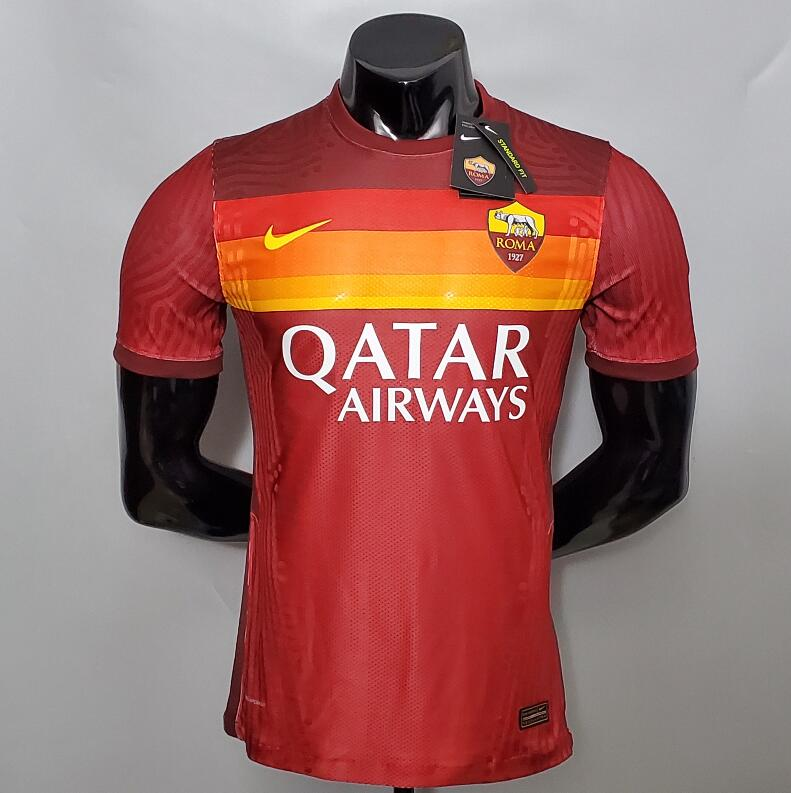 <Roma Home 20/21 Player's Version>