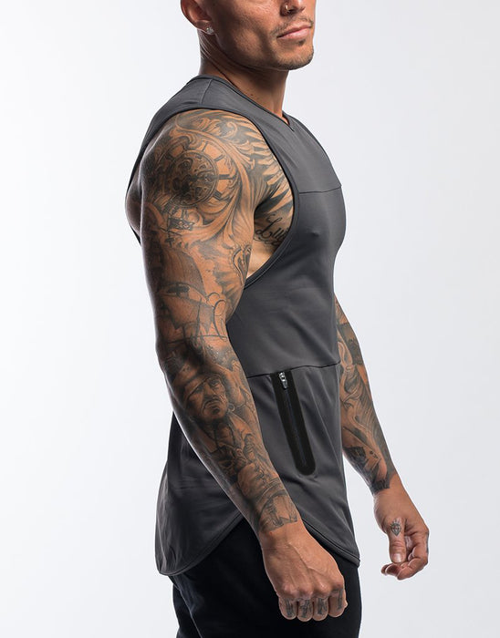 Hype Gym Tank - (Grey)