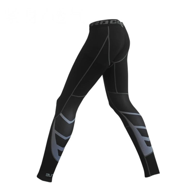 Hypervent Compression Long Tights (Grey)