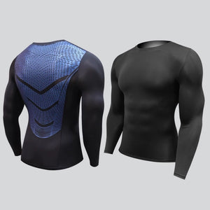 A - Hyperlight Pro Combat Long Sleeve Top Compression Tights