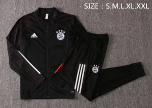 Bayern Munich 20/21 FULL-ZIP TRACK JACKET (PANTS SOLD SEPERATELY)