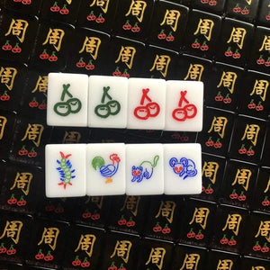 Surname Mahjong Tiles (Solid Colour)