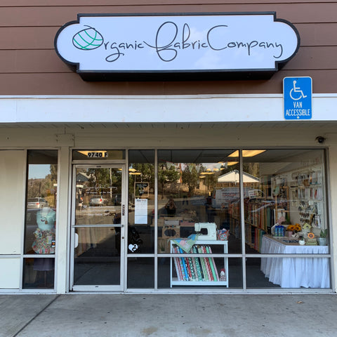 Visit Organic Fabric Company in San Diego, California