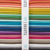Iris - Cirrus Solids - Cloud9 Fabrics - Organic Cotton - Broadcloth