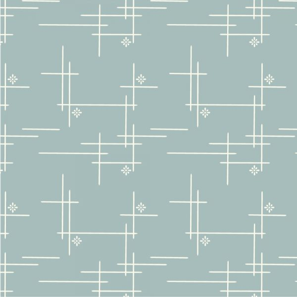 Merry Hatch Mineral Canvas - Merryweather - Birch Fabrics - Organic Cotton - Canvas by the Yard