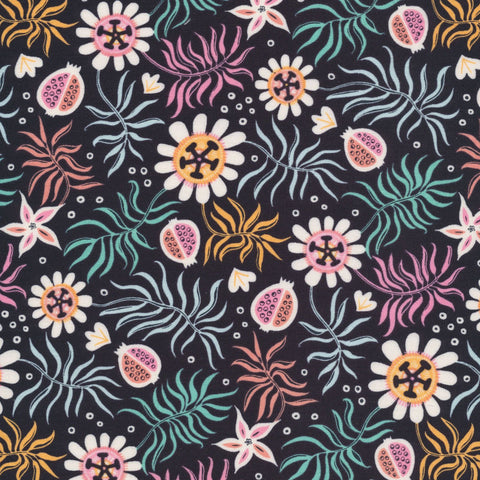 Tropical Garden - Tropical Garden - Cloud9 Fabrics - Organic Cotton - Poplin