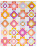 Meadowland Quilt Pattern Beginner Level - Then Came June - Quilt Paper Pattern