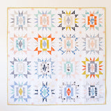 Sienna Burst Quilt Pattern - Intermediate Level - Then Came June - Quilt Paper Pattern