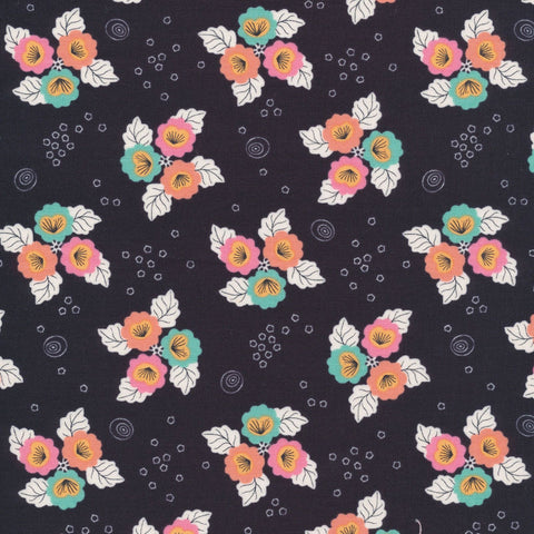 Monsoon Bloom - Tropical Garden - Cloud9 Fabrics - Organic Cotton - Poplin