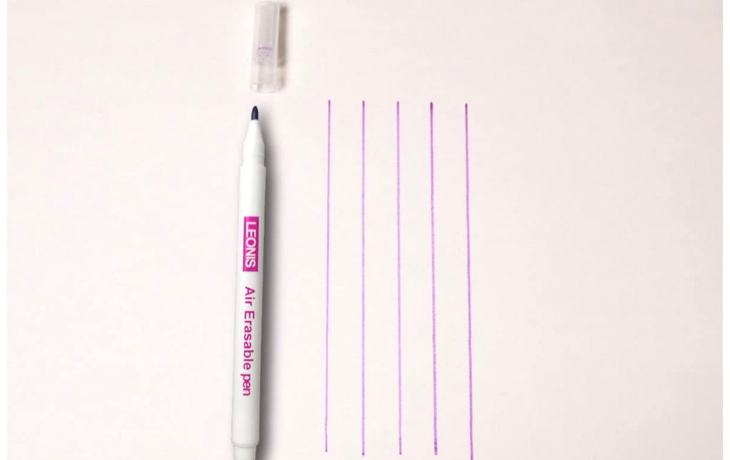2 Pack of Air Soluble Disappearing Fabric Pens