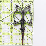 Butterfly Antique Style Embroidery Scissors - Stainless Steel - 3.7 Inches - Vintage Style - Silver