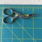 Stork Antique Style Embroidery Scissors - Stainless Steel - 3.5 Inches - Vintage Style - Silver