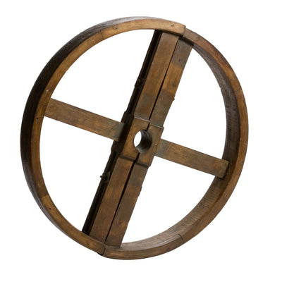 WHEEL IN WOOD