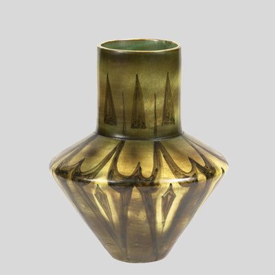 ABSTRACT VASE GREEN