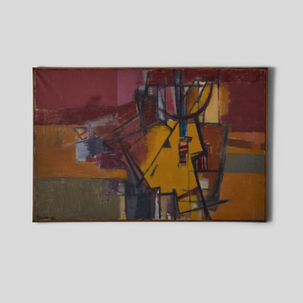 Lee Stanton Antiques Abstract Painting