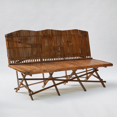 Lee Stanton Antiques Bamboo Bench