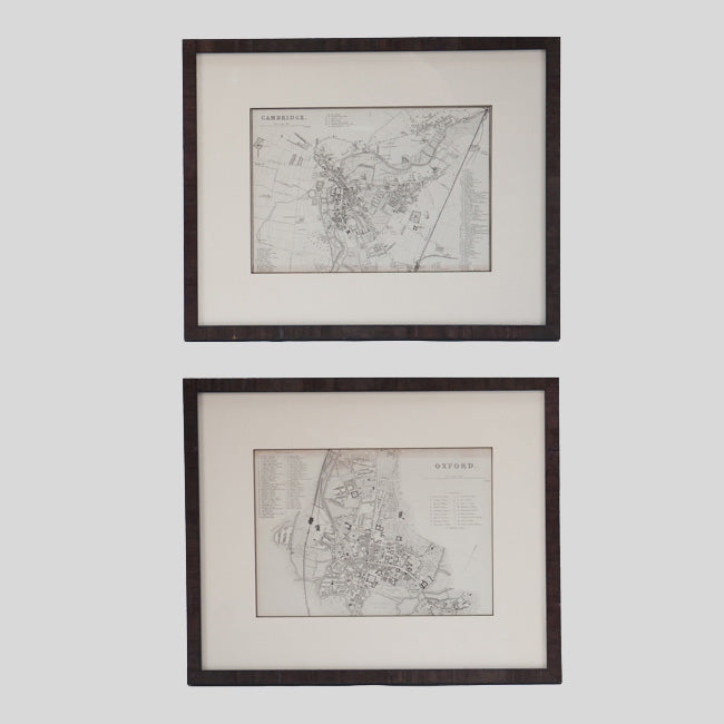 PAIR OF MAPS