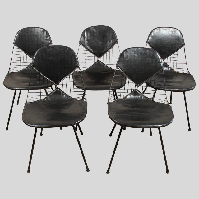 BLACK EAMES CHAIRS