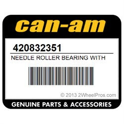 Needle Roller Bearing with Sleeves (Clutch 1 way bearing) Can-am OEM 420832351
