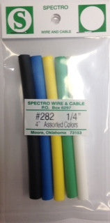 "1/4"" x 4"" Assorted Heat Shrink Bag - Spectro"