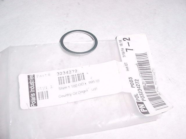 1.180 x .995 Transmission Shim, Polaris OEM 3234272