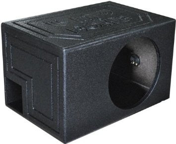 "12"" Vented Ported SQ Extra Long Speaker Box with Square Hole (box only, no speakers)"