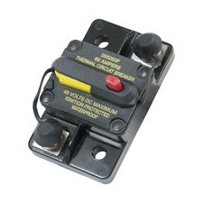 Hi-Amp Surface Mount Circuit Breakers - Manual Reset - Switchable
