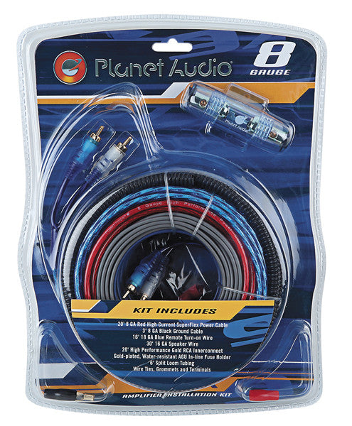 8G Amplifier Installation Kit Planet Audio