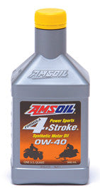Synthetic 0W40 4-Stroke Oil - Amsoil